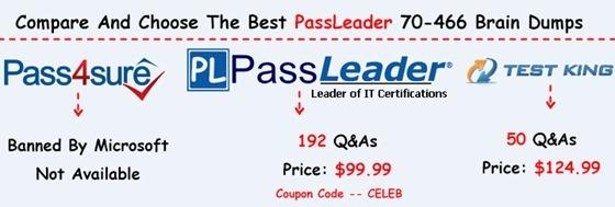 PassLeader 70-466 Brain Dumps[27]