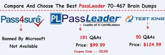 PassLeader 70-467 Brain Dumps[29]