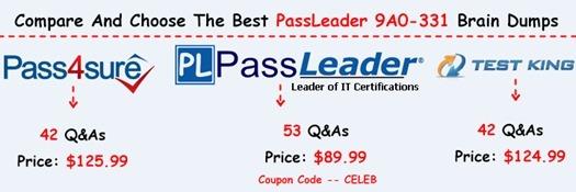 PassLeader 9A0-331 Brain Dumps[16]