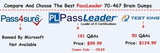 PassLeader 70-467 Brain Dumps[41]