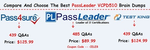 PassLeader VCPD510 Exam Questions[23]